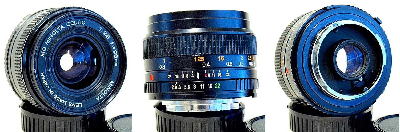 Minolta MD Celtic 28mm 1:2.8 #947