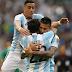 Estados Unidos perdió 4-0 con Argentina