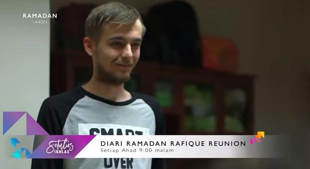 Senarai Pelakon Drama Diari Ramadan Rafique Reunion 2019