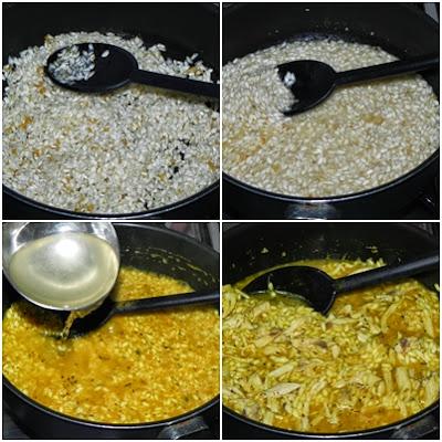 modo de preparo de risotto