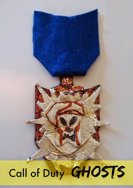 Make your own Call of Duty Medal.