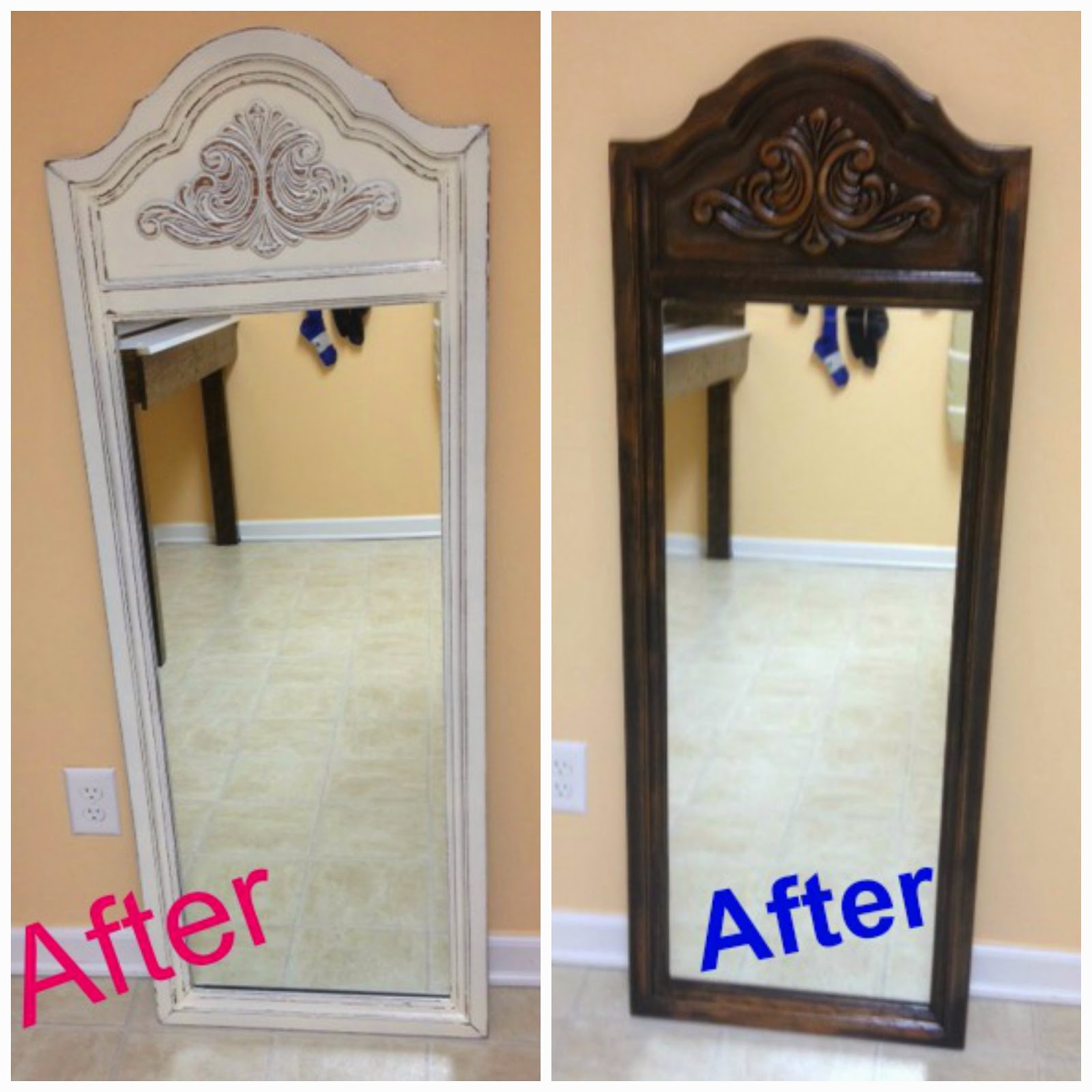 That S Not Junk Refurbished Recycled Furniture Mirror