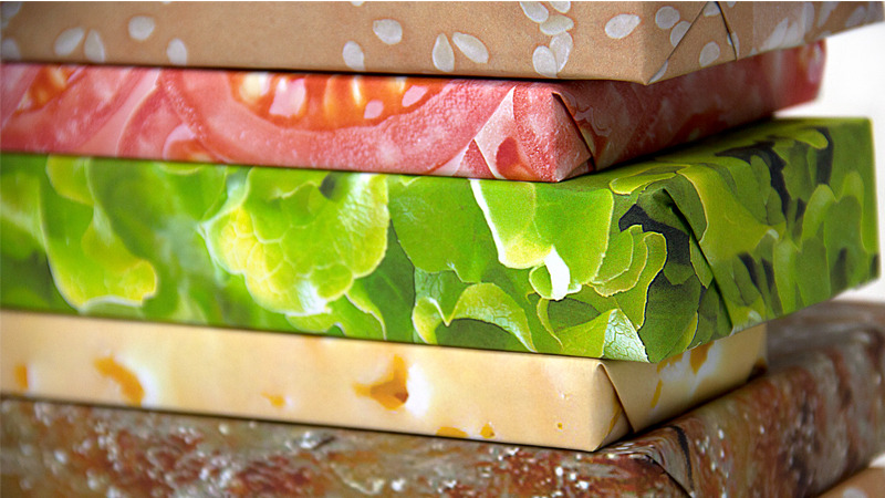 Mouth Watering Gift Wrap