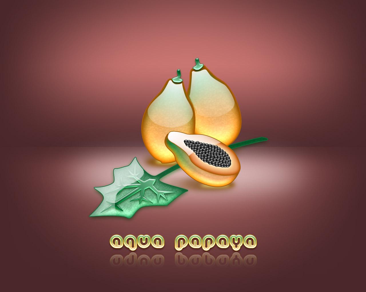 aqua papaya wallpaper abstract - photo #3