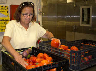 Culinary Arts Instructor and Garden Coordinator Nancy Haney