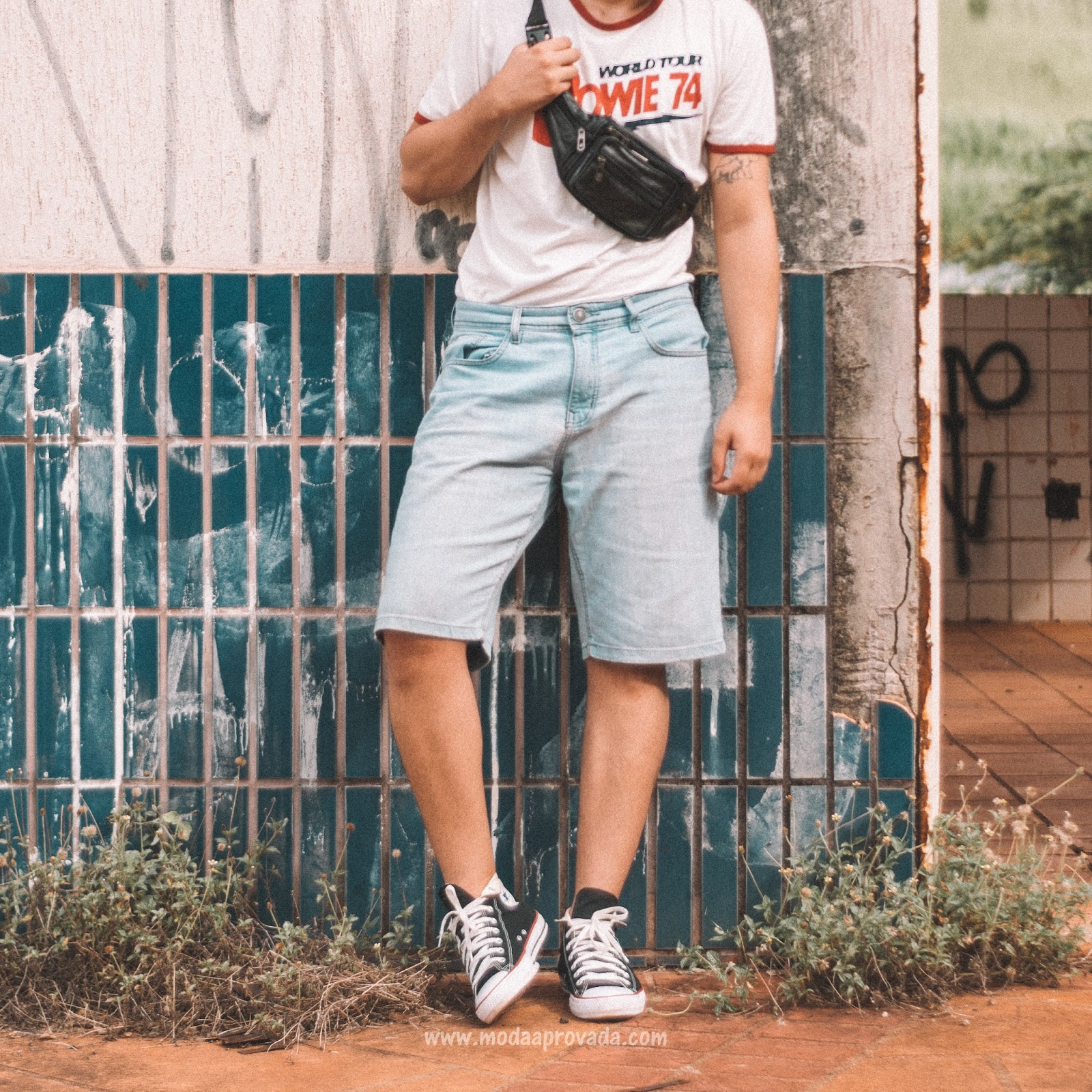 Look Masculino anos 90