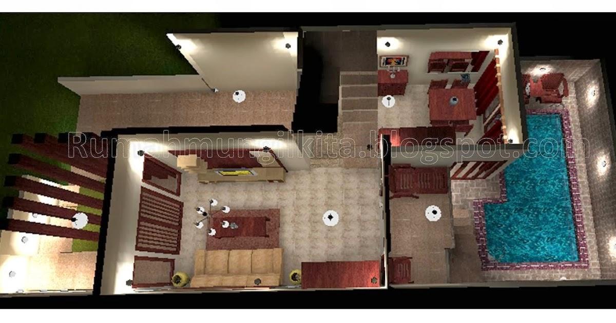 60 Desain Rumah Minimalis 10x20 Dengan Kolam Renang Rumahmini45