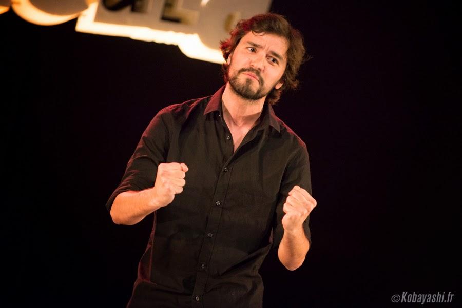 Tristan Lucas sur scène