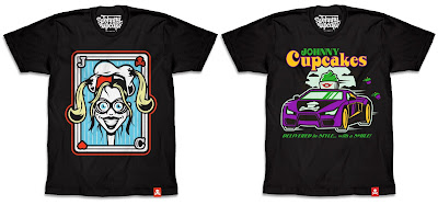Suicide Squad Harley Quinn & The Joker T-Shirt Collection by Johnny Cupcakes