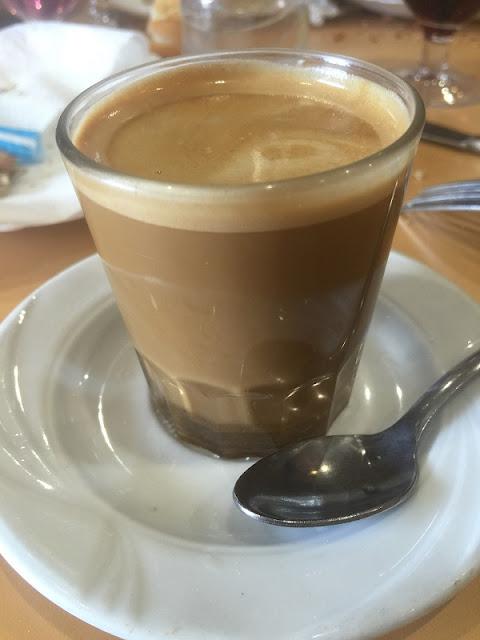 Bar Teruel - Café cortado