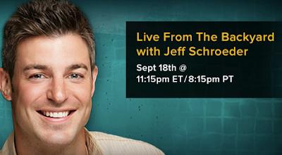 Big Brother 15 Backyard Interviews Jeff Schroeder