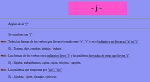 http://roble.pntic.mec.es/~msanto1/ortografia/jota.htm