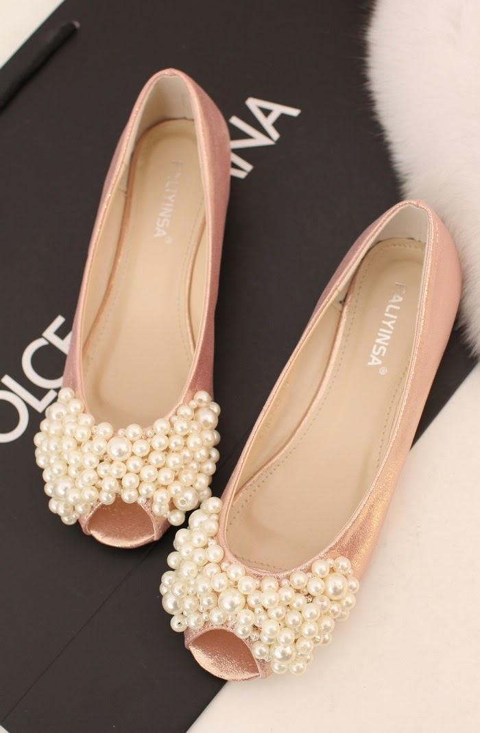 Open Toe Wedding Shoes