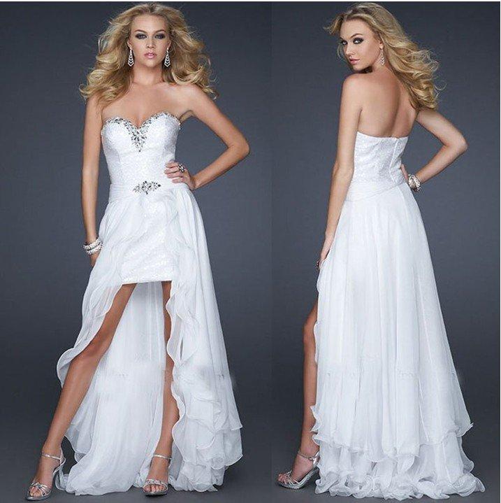 dd357e7e47 WhiteAzalea High-Low Dresses  White High Low Dress Is In Style