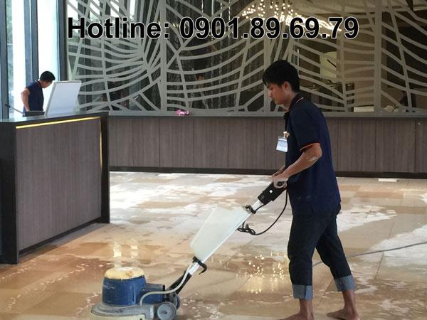 máy chà sàn đơn công nghiệp