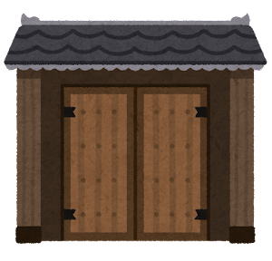 門のイラスト(閉)