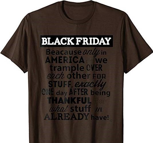 Maximum Gratitude Minimal Stuff Ready For Black Friday