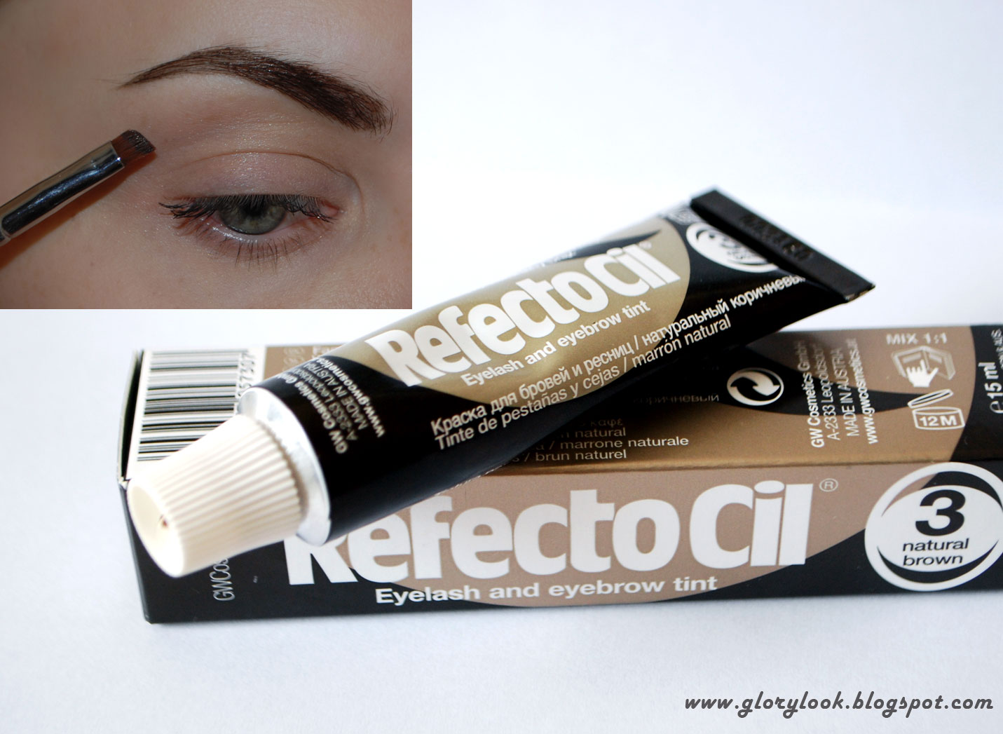 RefectoCil Natural Brown красим брови