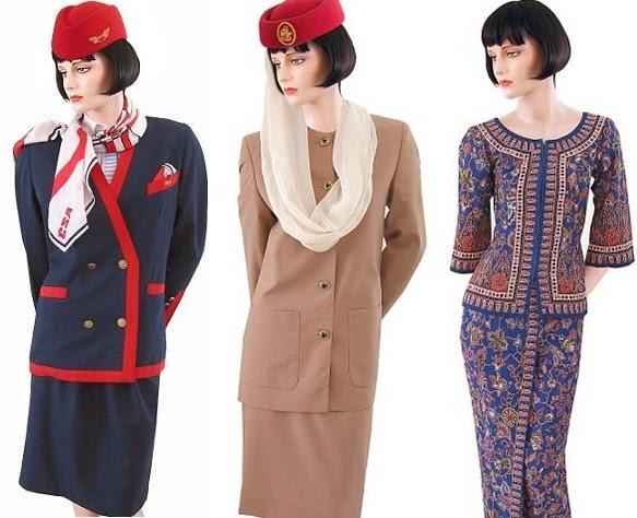 20 Model Baju Batik Pramugari 2017  Model Baju Batik Kantor