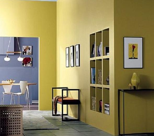 Pilihan Warna Cat Dinding Untuk Interior Rumah yang nyaman