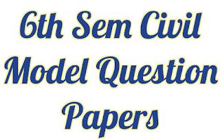 VTU Civil Model Question Papers