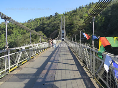Singshore Bridge in Namchi