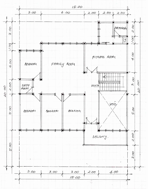 2nd floor plan of home image 07