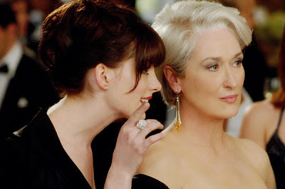 The Devil Wears Prada, image from film, blog about book