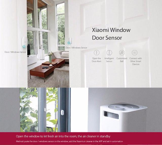 مستشعرات النوافذ و الأبواب | Window Door Sensor Set