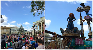 The Festival of Fantasy parade merida