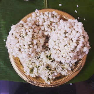Jasmine, Flowers, Wedding, Kerala wedding, South Indian Wedding