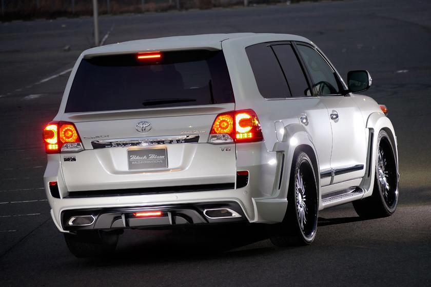 Modified Cars Toyota Land Cruiser 2013 Modified