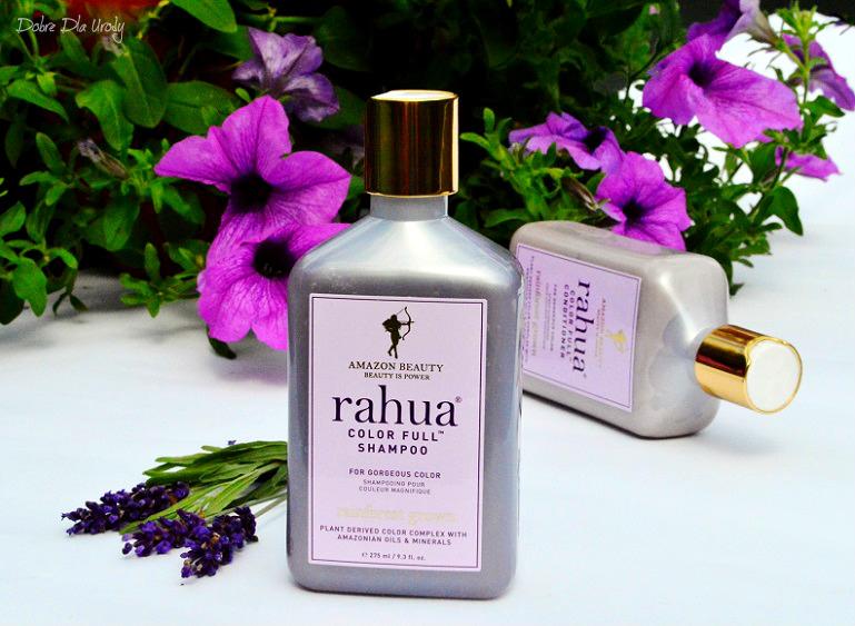 Rahua Color Full - Organiczny szampon i Naturalna odżywka do włosów farbowanych - recenzja