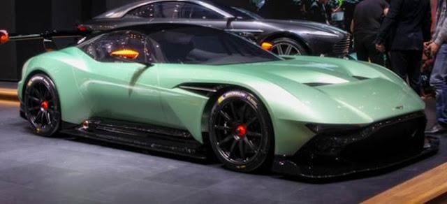 2017 Aston Martin Vulcan Redesign
