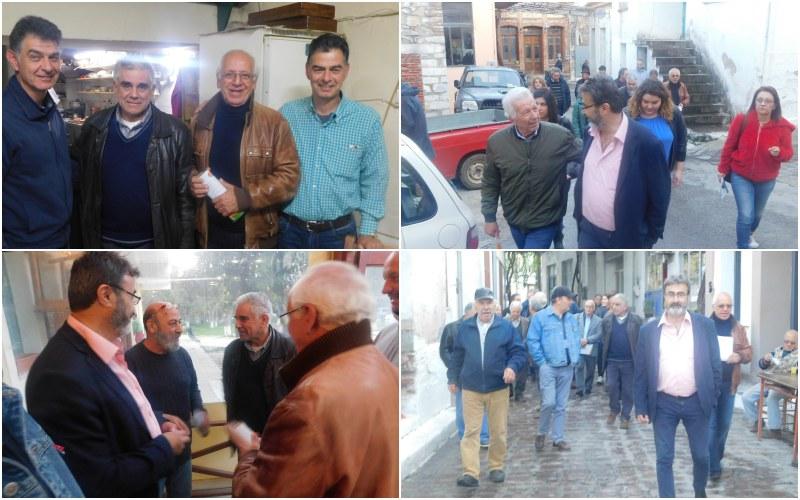 Ξεκίνησε χτες τις περιοδείες του ο υποψήφιος Δήμαρχος Μυτιλήνης Μιχάλης Μαμάκος [εικόνες]