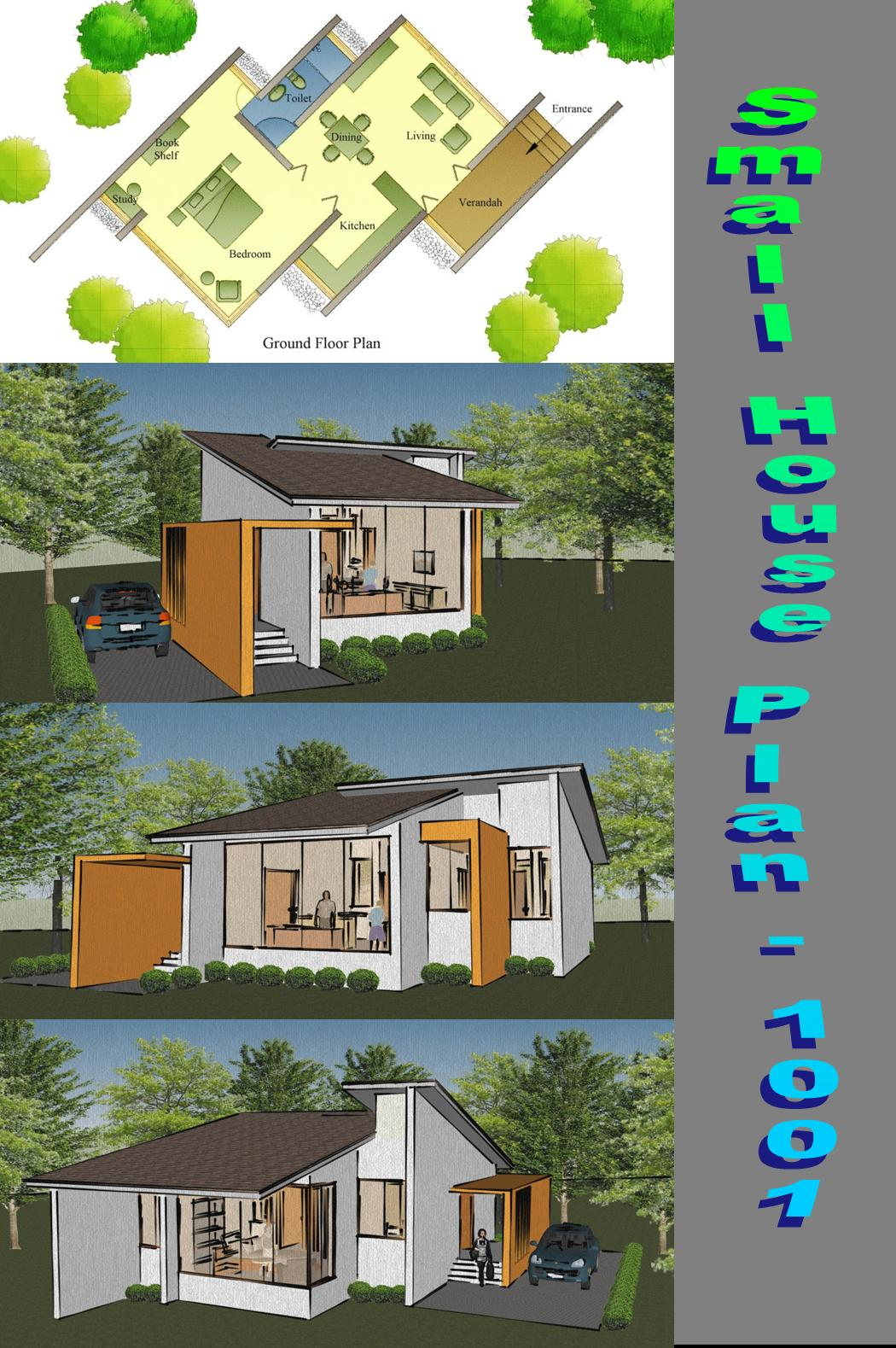 Home plans in india 5 best small home plans from for Housing plan in india