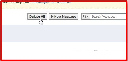 how to delete multiple messages on facebook app