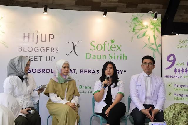 Cerita Dari HijupXSoftexDaunSirih; Pentingnya Menjaga Daerah Kewanitaan Agar #BersihSehatBebasWorry