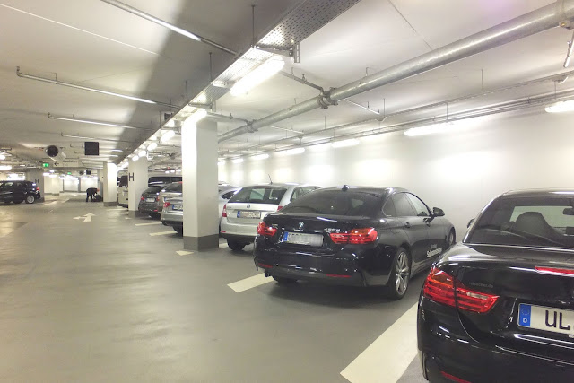 BMW Welt Parking lot