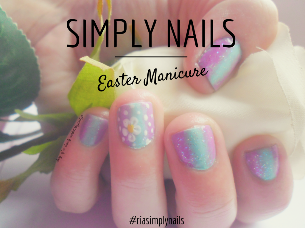 Simply Nails ▎❝Easter Manicure #2❞