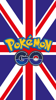 Pokemon Wallpaper GO flag Great Britain for Android phone and iPhone Free