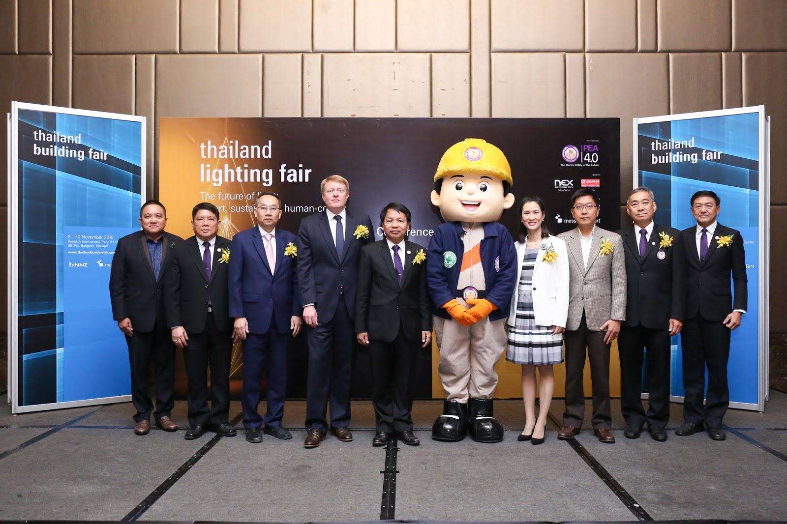 กฟภ. จับมือ เมสเซ่ แฟรงค์เฟิร์ต เตรียมเปิดเวทีแสดงสินค้า Thailand Lighting Fair 2018   ตามแนวงาน Light+Building งานแสดงสินค้าระดับโลก ชูนวัตกรรมไฟฟ้าแสงสว่างแห่งอนาคต  ภายใต้แนวคิด The future of light: smart, sustainable, human centric