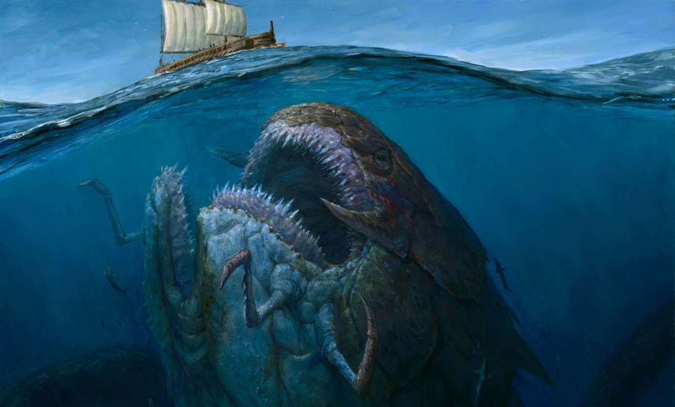 Most terrible sea creatures