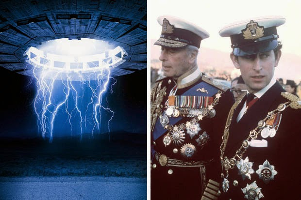 Prince Charles Allegedly Subscribes To UFO Magazine After Witnessing A Spaceship Land On His Uncle's Garden