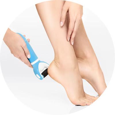 Consiga pés instantaneamente mais suaves e bonitos!