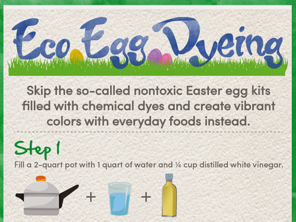 Eco Egg Dying for Easter