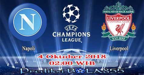 Prediksi Bola855 Napoli vs Liverpool 4 Oktober 2018