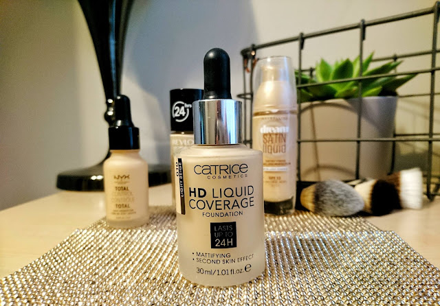 Testujemy Catrice - HD Liquid Coverage Foundation