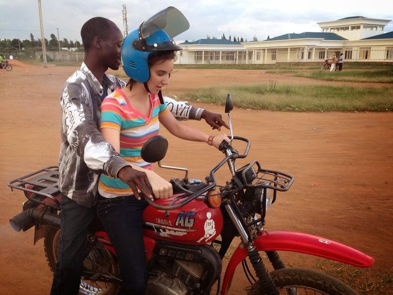 The Neils in Rwanda: Motorcycle Driving Class