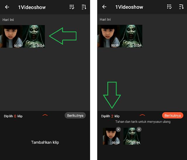 Cara Gabungkan Video Di HP